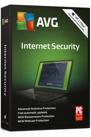 AVG Internet Security - 1 naprava - 1 leto