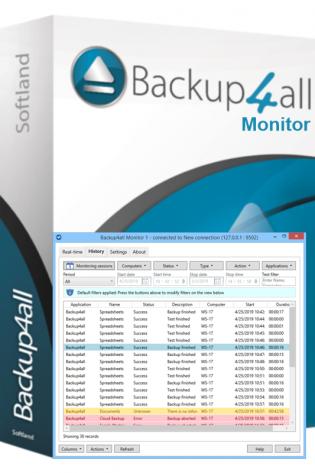 Backup4all Monitor