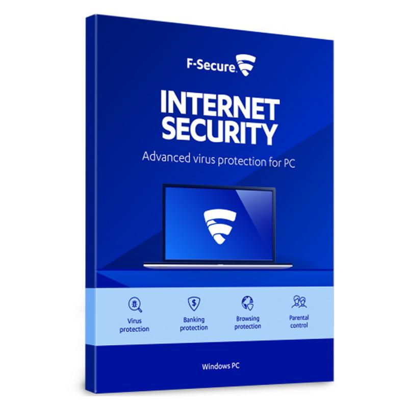 F-Secure Internet Security - 1 naprava - 1 leto