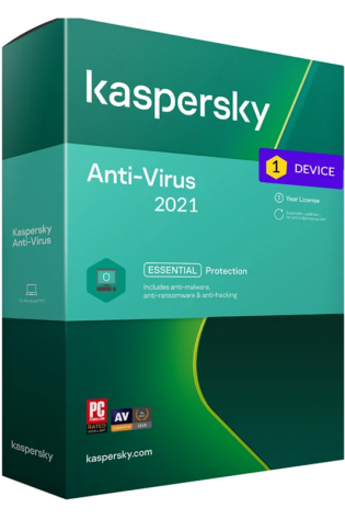 Kaspersky Antivirus - 1 naprava / 1 leto