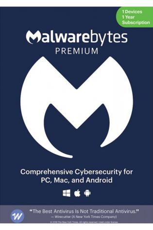 Malwarebytes Premium 2021 - 1 naprava - 1 leto