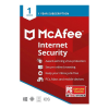 McAfee Internet Security - 1 naprava - 1 leto