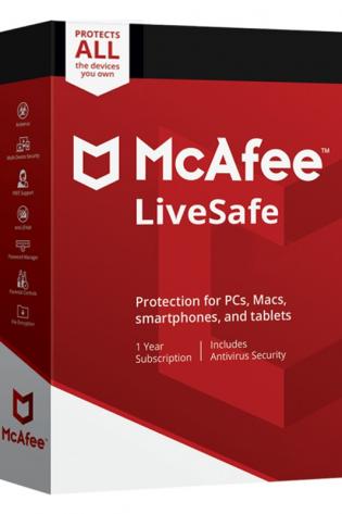 McAfee LiveSafe 2021