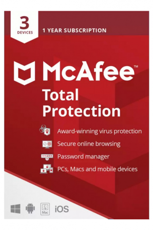 McAfee Total Protection 2021