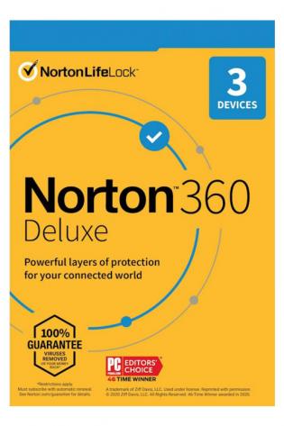 Norton 360 Delux - 3 naprave - 1 leto